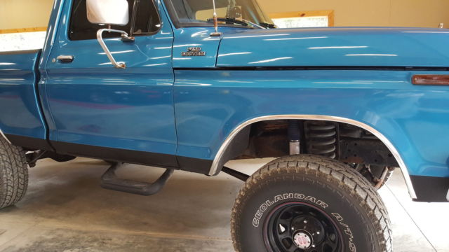 1977 ford f 150 custom lifted 4x4 shortbed 4 speed manual trans for sale in silverton idaho. Black Bedroom Furniture Sets. Home Design Ideas