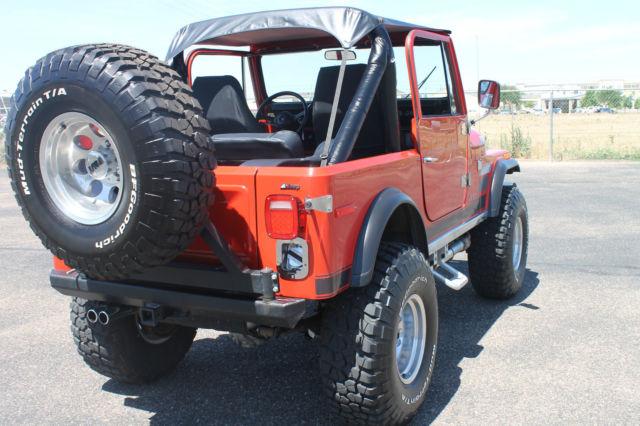 1977 Jeep CJ7 Renegade for sale in Amarillo, Texas, United States