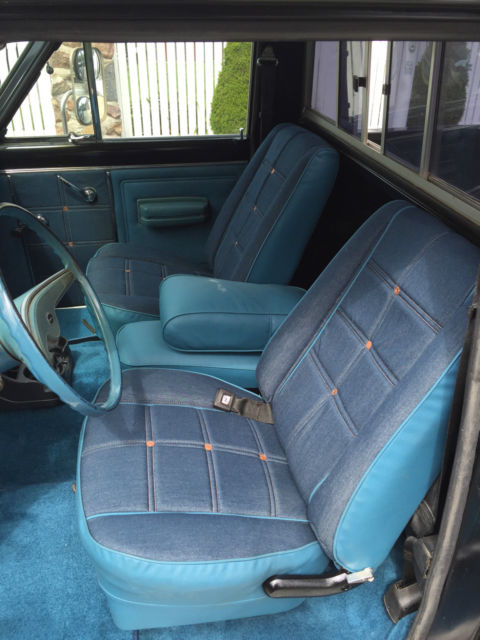 Levis Interior Restoration - International Full Size Jeep