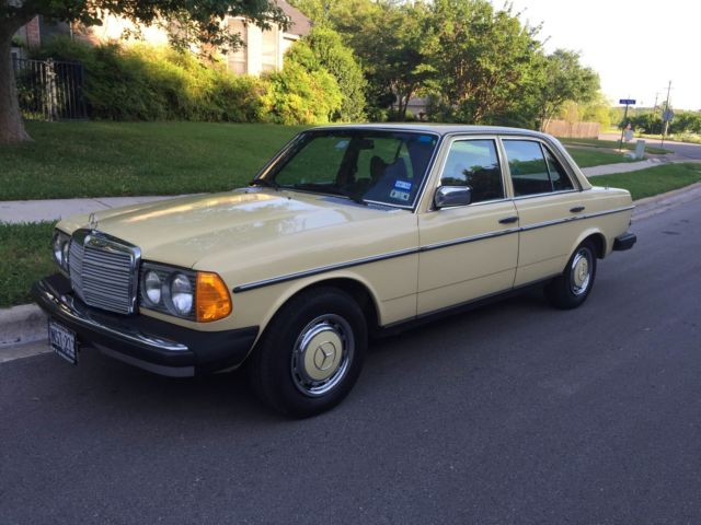 1977 Mercedes 300d For Sale In Georgetown Texas United States