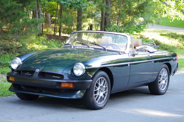 1977 MGB Custom V6 Roadster Convertible Low Mileage