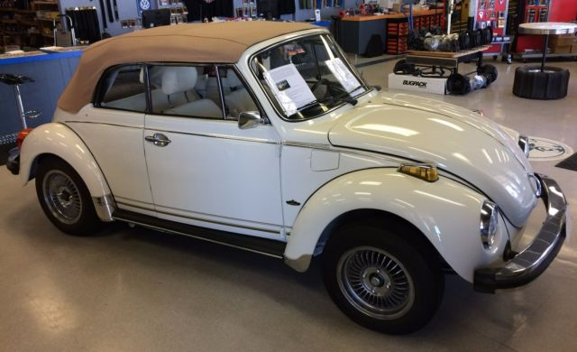 1978 Champage Edition Beetle Convertible For Sale In Vail