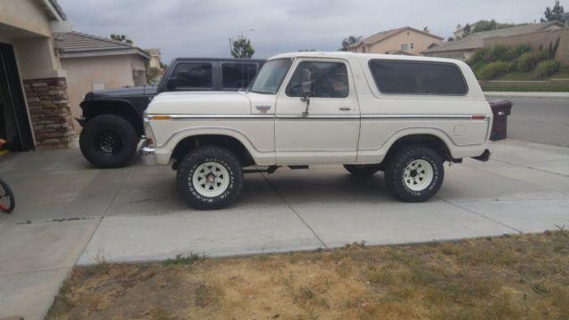1979 Ford Bronco Ranger BARN FIND !! Ford 9 inch rear, Dana