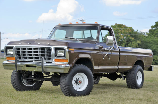 1979 ford f250 4x4 6cyl 4spd dana 60 front and rear axles ranger very nice truck for sale in. Black Bedroom Furniture Sets. Home Design Ideas