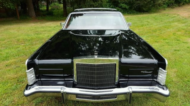 1979 lincoln continental town coupe showroom condition for sale in olympia washington united. Black Bedroom Furniture Sets. Home Design Ideas