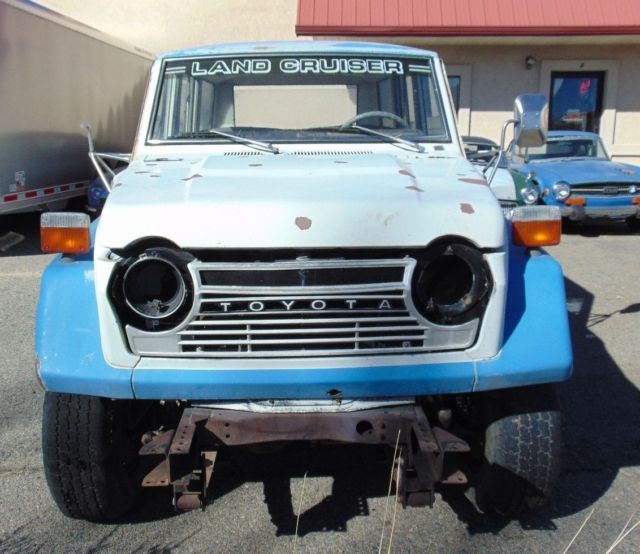 1979 Toyota FJ55 Land Cruiser --Long Time Sitter-Great Project