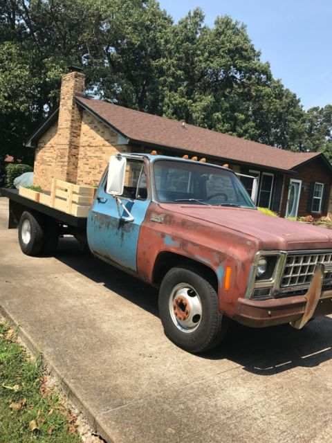 1980 Chevy C30 Flatbed for sale in Clarksville, Tennessee, United States