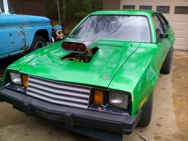 1980 ford pinto V-8 running project,351 windsor,c-6