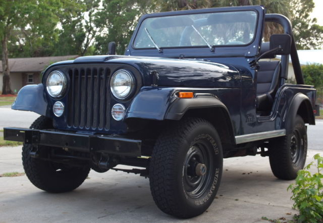 1980 jeep cj 5 for sale in melbourne florida united states. Black Bedroom Furniture Sets. Home Design Ideas