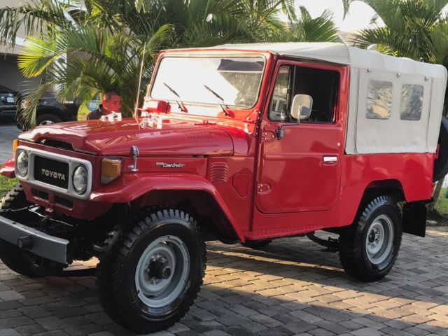 1980 Toyota Land Cruiser FJ43, FJ40, FJ45 for sale in Palm Bay