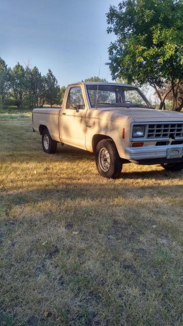1983 ford ranger pickup project rebuildable for sale in belfield north dakota united states. Black Bedroom Furniture Sets. Home Design Ideas