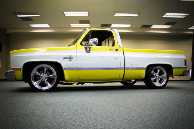 Used Chevy Silverado For Sale >> 1983 SILVERADO C10 C-10 NEW INTERIOR NEW 20'S LOWERED 454 TURN KEY NO PATINA WOW for sale in ...