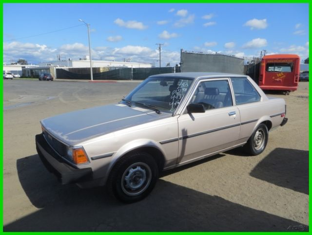 1983 toyota corolla deluxe used 1 6l i4 8v automatic no reserve for sale in anaheim california. Black Bedroom Furniture Sets. Home Design Ideas