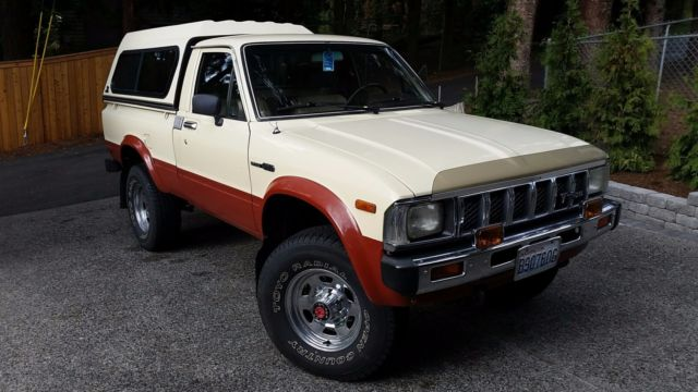 1983 Toyota SR5 Pickup 4x4 [One Owner, Fully Stock] for sale in