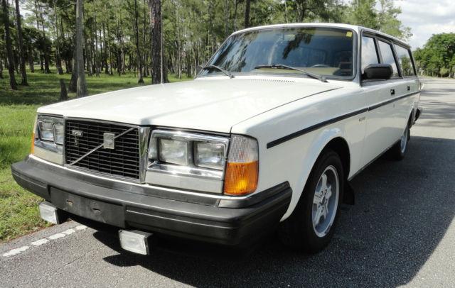 1983 Volvo 240    245 Glt Turbo Wagon 102k Original Miles