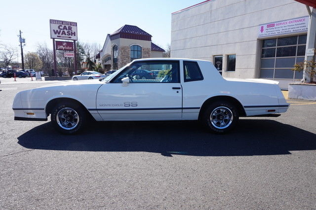 1984 Chevrolet Monte Carlo Ss Sport Coupe 5 0l Two Owner White Bench Seat For Sale In Ramsey