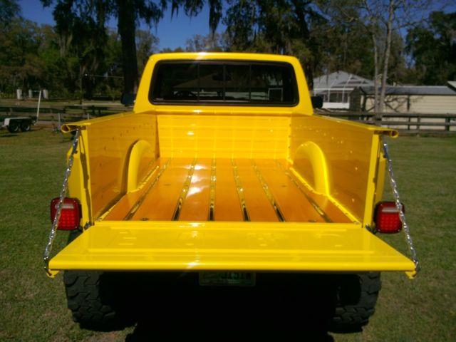 1984 Ford F 350 Lifted Stepside 4x4 Oak Wood Bed F 150 F