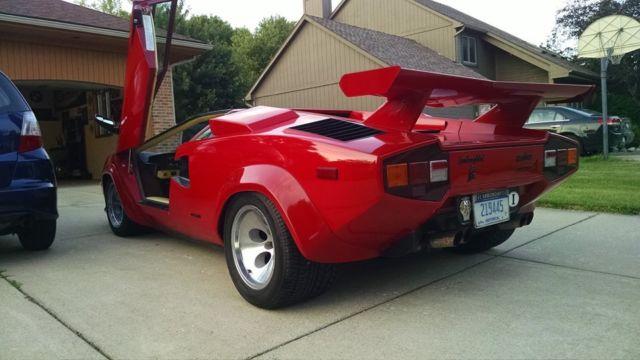 1984 Lamborghini Countach Fuel Injected 5000 S For Sale In Novi