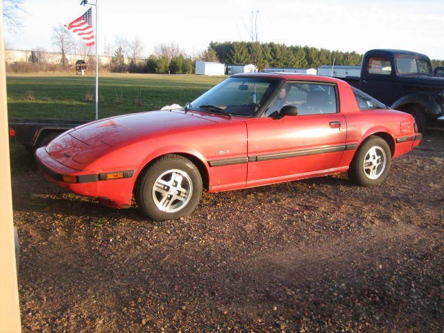 1984 mazda rx7 gsl rotary 1979 1980 1981 1982 1983 1985 survivor 1 owner for sale in chetek. Black Bedroom Furniture Sets. Home Design Ideas