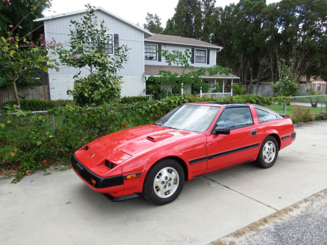 1984 nissan datsun 300zx turbo coupe for sale in valrico florida united states. Black Bedroom Furniture Sets. Home Design Ideas