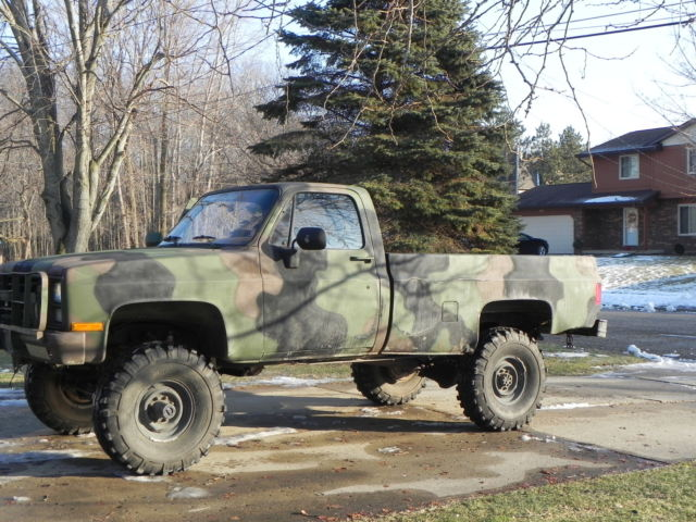 1985 Chev K30 M1008 CUCV For Sale In Saginaw Michigan