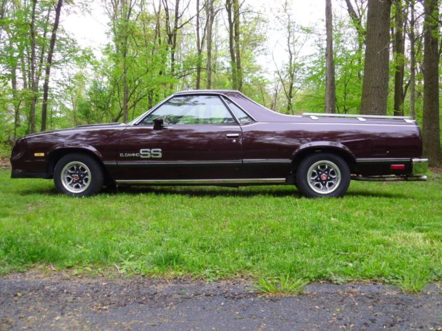 1985 Chevrolet El Camino Ss Choo Choo Edition For Sale In Pasadena Maryland United States