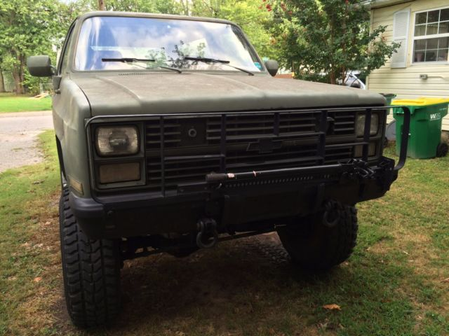1985 Chevrolet K5 Blazer CUCV M1009 for sale in Springdale