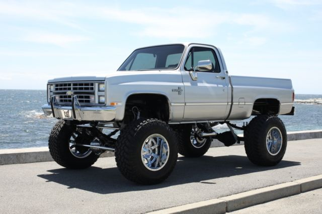 1985 Chevy Lifted Show Truck Frame off Restored for sale in