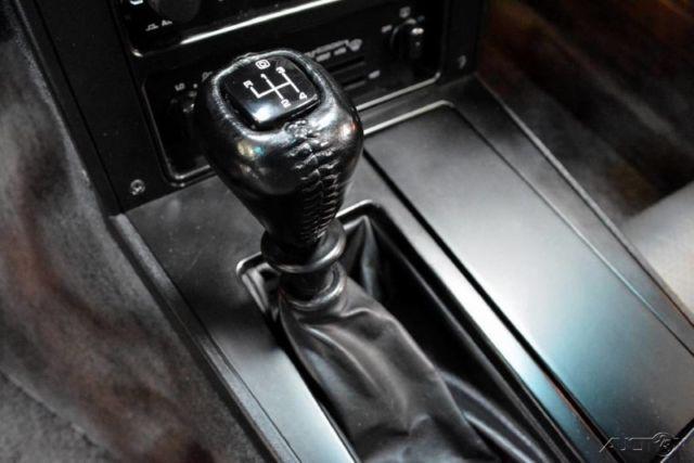 1985 Corvette Z51 5 7L V8 4-Speed Manual Transmission Transparent