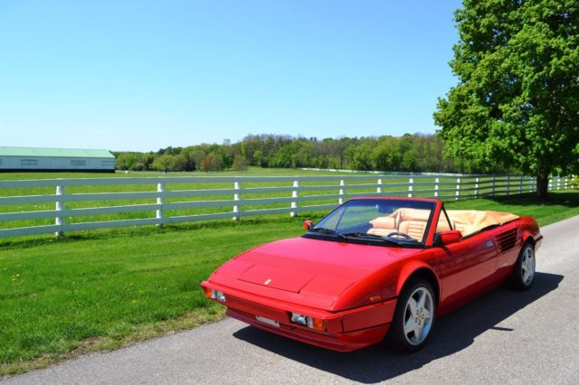 1985 ferrari mondial cabriolet only 19kmi fresh resto updated mint warranty 4v for sale in. Black Bedroom Furniture Sets. Home Design Ideas