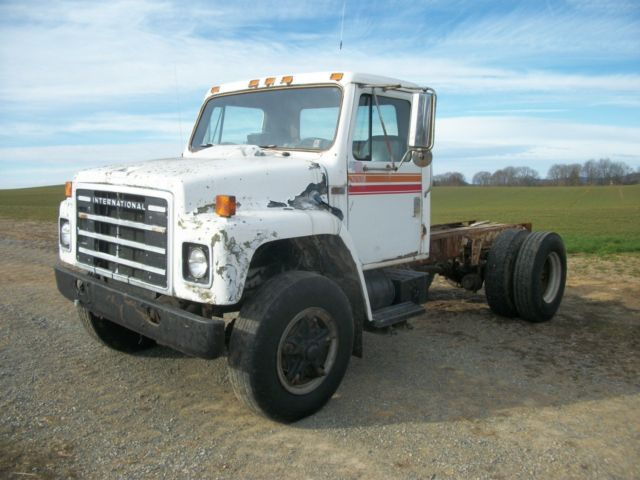 1985 IH S1700 Truck For Parts 85 9 0 Diesel V8 Motor IHC