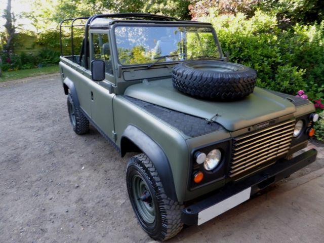 1985 Land Rover Defender Ex Mod 110 Soft Top for sale in