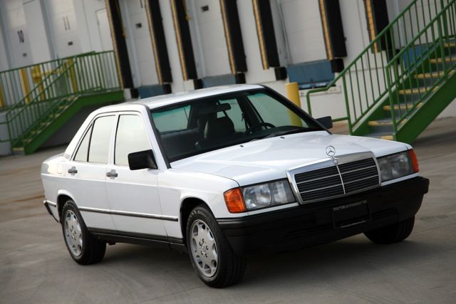 1985 mercedes benz 190d 2 5 non turbo diesel 5 speed for Mercedes benz manual transmission for sale