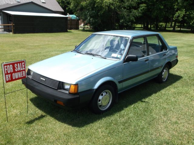 1985 toyota corolla le for sale in belmont new york united states. Black Bedroom Furniture Sets. Home Design Ideas