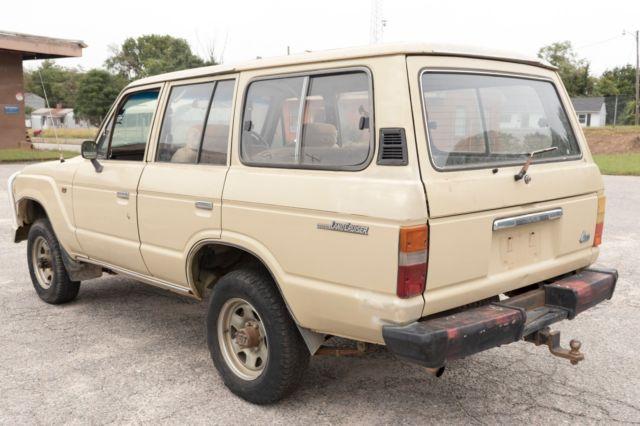 1985 Toyota Hj60 Auto Land Cruiser Diesel Suv Wagon Rhd Fj60 Fj62