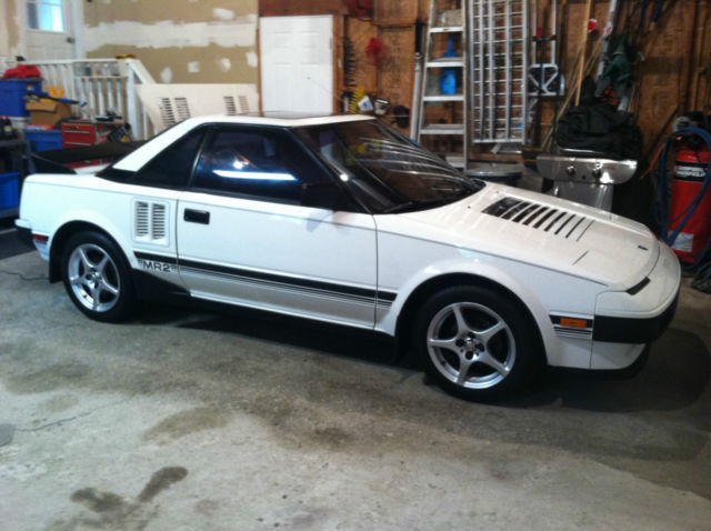 1985 toyota mr2 gt coupe 2 door 1 6l for sale in garrettsville ohio united states. Black Bedroom Furniture Sets. Home Design Ideas
