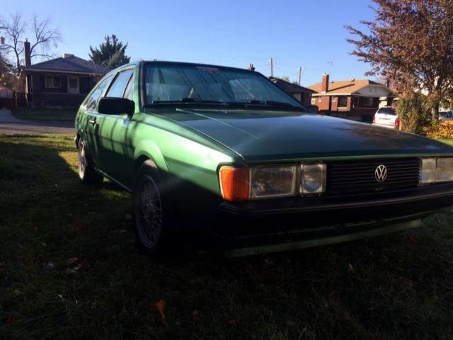 1985 Volkswagen Scirocco ABA Cedar Green for sale in Salt Lake City