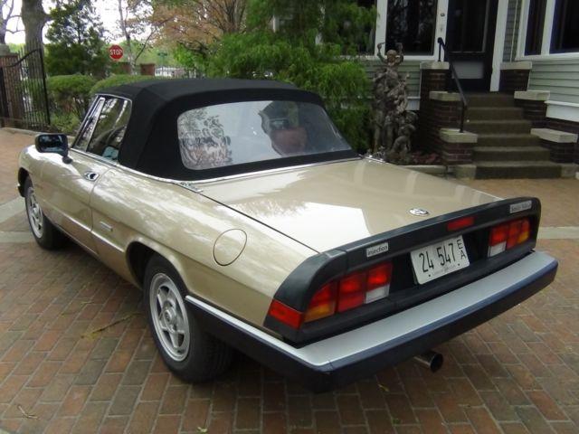 Alfa Romeo Spider Veloce K Miles Clean Straight Rust Free - 1986 alfa romeo spider veloce for sale