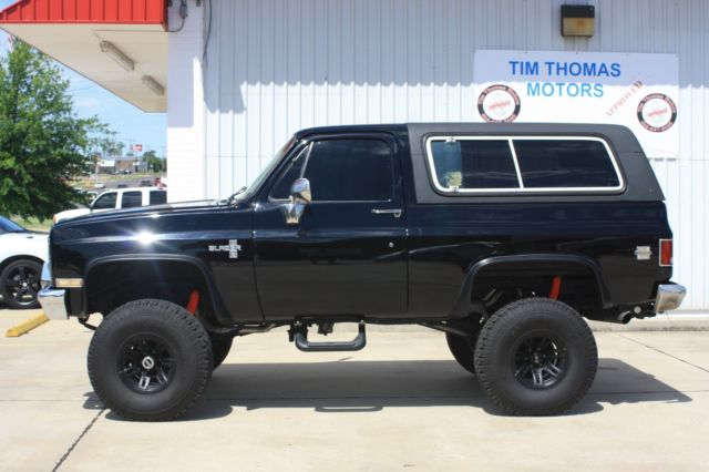 1986 Chevy Blazer LIFTED!! for sale in Oklahoma City ...