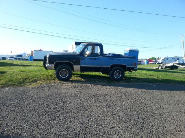 1986 gmc jimmy 6.2 diesel