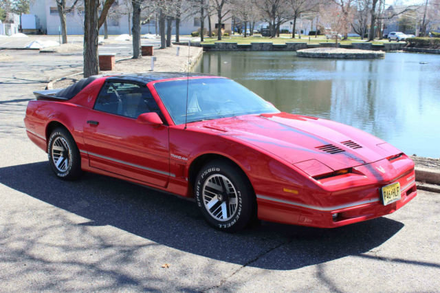 1986 pontiac firebird trans am coupe 2 door 5 0l low miles t tops for sale in paramus new jersey united states classic cars collectors cars rare cars for sale and export from usa