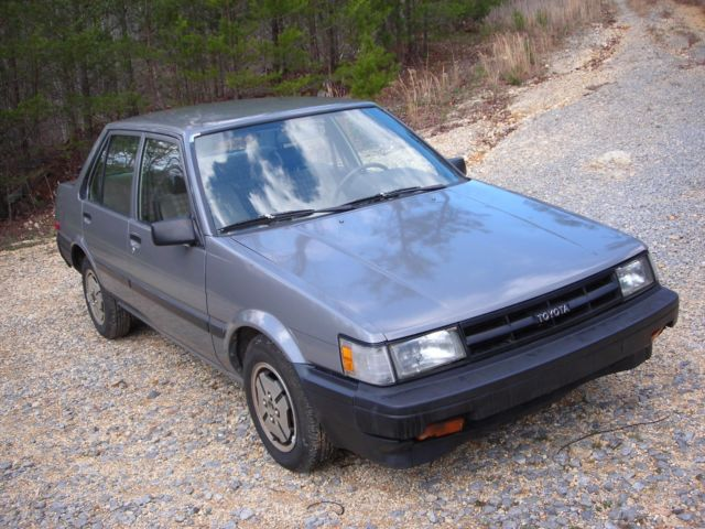 Toyota Of Cleveland Tn >> 1986 Toyota Corolla DLX FWD Rare! Only 59K Miles 1 family ...