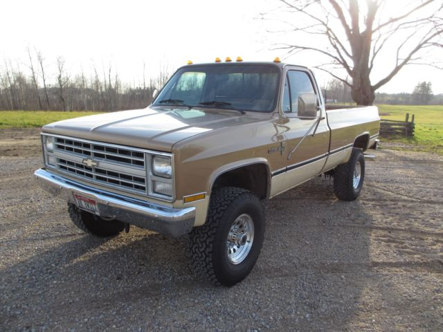 1987 chevy c k 3500 four speed manual 4x4 454 for sale in mcbain michigan united states. Black Bedroom Furniture Sets. Home Design Ideas