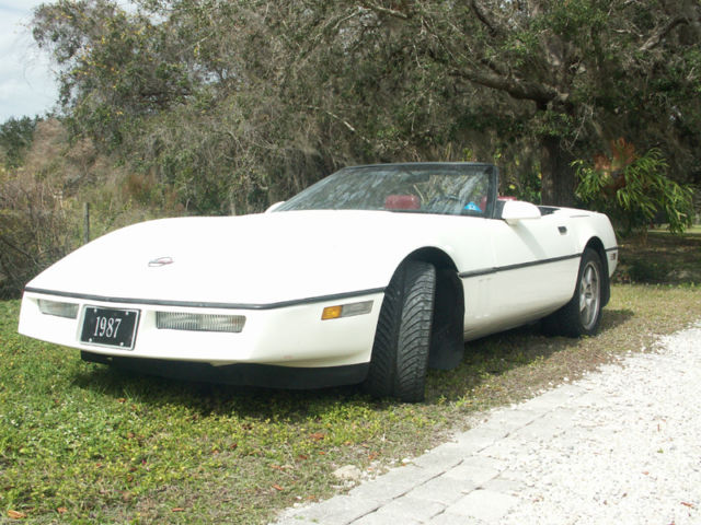 1987 corvette convertible for sale in bolt west virginia united states. Black Bedroom Furniture Sets. Home Design Ideas