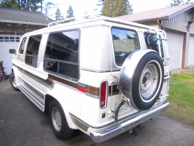 1987 Ford E 150 Conversion Van Wagon 50 Deluxe Half Ton Automatic By Bivouac