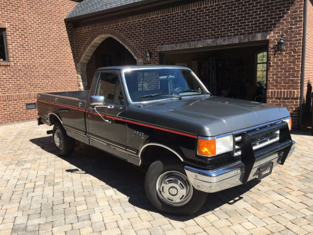 1987 ford f250 w 460 engine 4 speed manual low mileage excellent condition for sale in. Black Bedroom Furniture Sets. Home Design Ideas