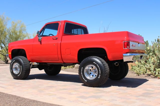 1987 GMC short bed truck k15 4x4 twin to a chevy k 10 6 inch lift new paint for sale in Cave ...