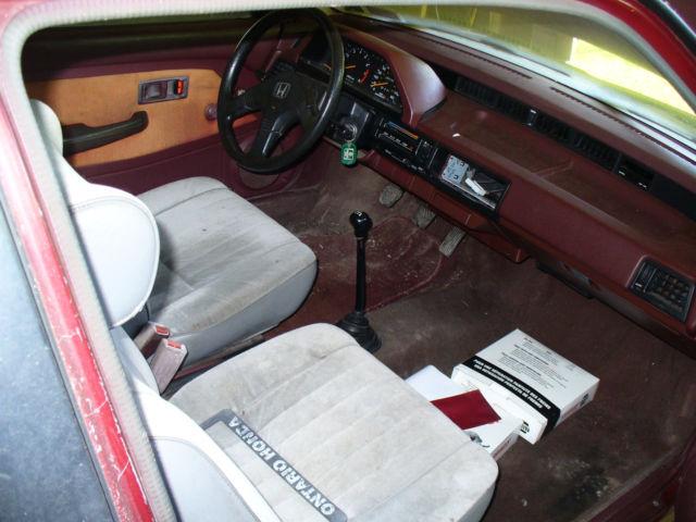 1987 Honda Civic Hatchback For Sale In Appleton New York United States