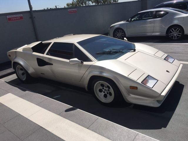 1987 Lambo Countach Lp5000qv 4k Miles For Sale In West Hollywood