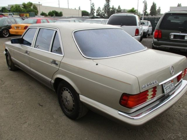 1987 mercedes benz 420sel dr used 4 2l v8 16v automatic no for 1987 mercedes benz 420sel